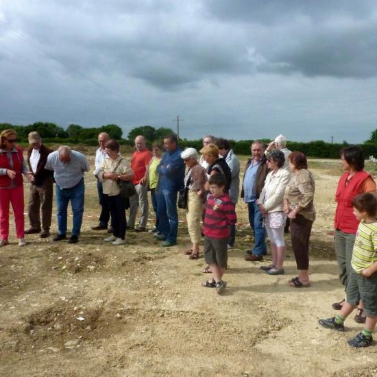 2011 05 21 -  Visite chantier INRAP à St Christophe 004