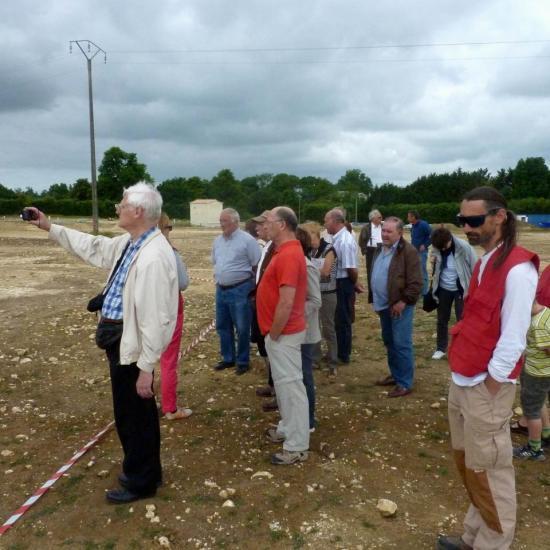 2011 05 21 -  Visite chantier INRAP à St Christophe 006