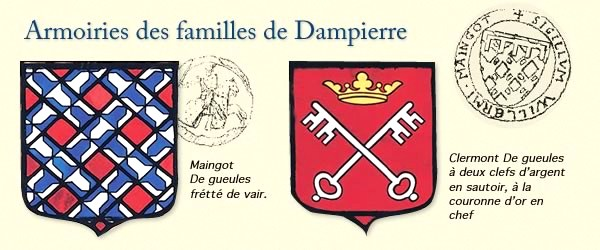 Armoiries dampierre