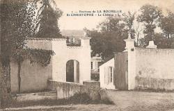 Saint christophe entree du chateau 1920